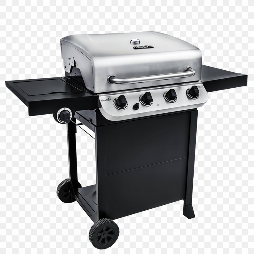 Barbecue Char-Broil Performance 463376017 Char-Broil Performance 4 Burner Gas Grill Grilling Char-Broil 3 Burner Gas Grill, PNG, 1000x1000px, Barbecue, Brenner, Charbroil, Charbroil 3 Burner Gas Grill, Charbroil Patio Bistro Gas 240 Download Free