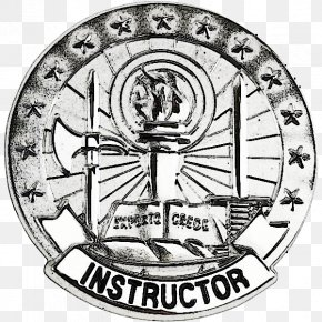 United States - Badges Of The United States Army U.S. Military Instructor Badges PNG