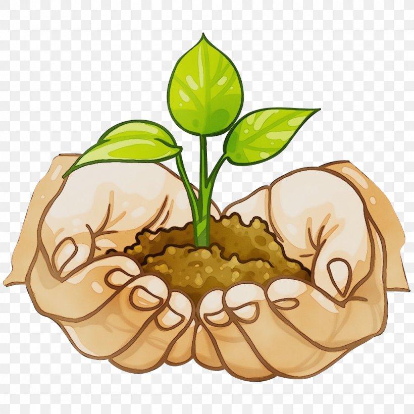 Clip Art Leaf Plant Flower Plant Stem, PNG, 1024x1024px, Watercolor, Flower, Leaf, Paint, Plant Download Free
