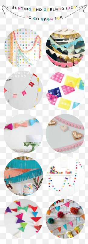 Paper Garland - Paper Bunting Plastic Idea PNG