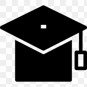 Graduation Element - Square Academic Cap Graduation Ceremony College Academic Degree School PNG