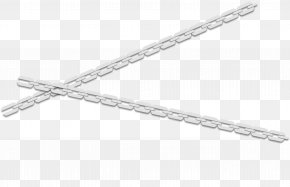 White Chain - Structure White Black Pattern PNG