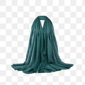Neck Stole Turquoise PNG