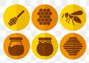 Honey Logo - Honey Bee Honey Bee PNG