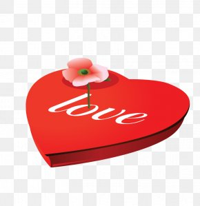 Red Love Box - Red Love PNG