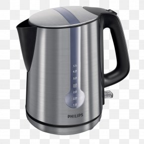 Kettle Image - Kettle Philips Stainless Steel PNG