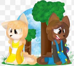 Madre E Hija - Mammal Cartoon Stuffed Animals & Cuddly Toys Character PNG