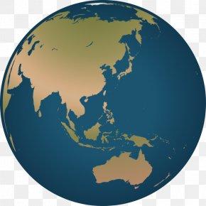 Cartoon Earth Cliparts - China Australia Asia-Pacific World High-net-worth Individual PNG