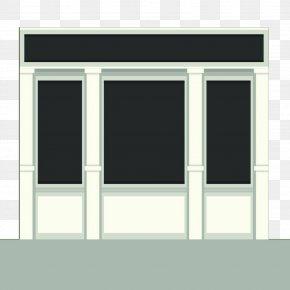 Hand Painted Vector Window - Facade Adobe Illustrator PNG