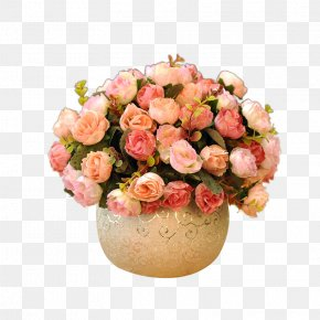 Ceramic Flower Vase - Artificial Flower Vase Floristry Floral Design PNG