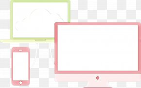 Rectangle Pink - Pink Line Rectangle Square PNG