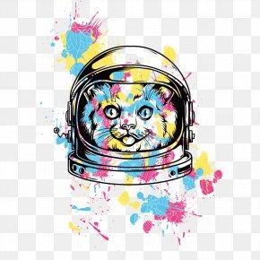 T-shirt Design - Printed T-shirt Hoodie Cat PNG
