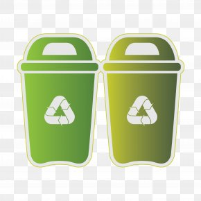 Trash Can - Waste Container Recycling Clip Art PNG