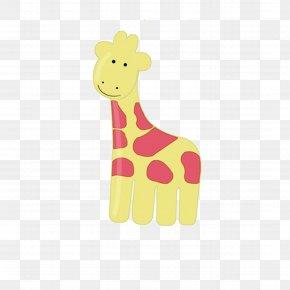 Cartoon Giraffe - Northern Giraffe Cartoon Clip Art PNG