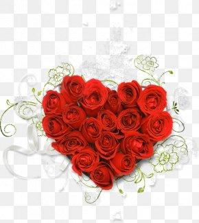 Rose - Love Rose Flower Bouquet Clip Art PNG