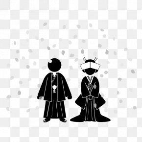 Wedding Illustration - Wedding Bridegroom Marriage ウェルカムボード PNG