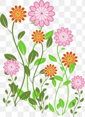 Hand-painted Flowers Vector - Euclidean Vector Flower Clip Art PNG