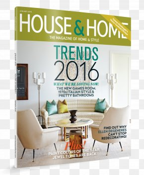 House - Interior Design Services Magazine House Room Metropolitan Home PNG