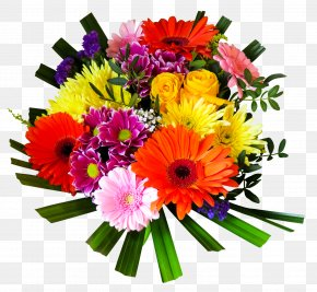 Flower Bouquet - Wish New Year Flower Bouquet PNG