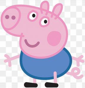 George Peppa Pig Transparent Image - Daddy Pig Mummy Pig Domestic Pig George Pig PNG