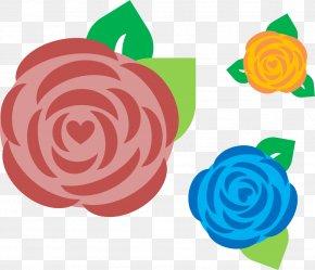 PPT - Garden Roses Microsoft PowerPoint Ppt Clip Art PNG