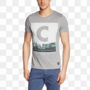 T-shirt - T-shirt Sleeve Jack & Jones Crew Neck PNG