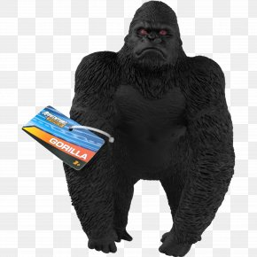 Western Lowland Gorilla Drawing - Gorilla Cartoon PNG