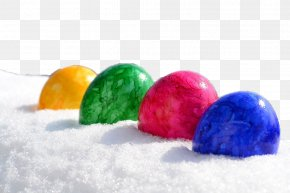 Snow Egg - Easter Egg Wish Number8 Family PNG