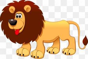 Vector Cartoon Lion - Lion Puppy Dog Clip Art PNG