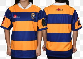 T-shirt - T-shirt Sleeve Rugby Shirt Jersey Rugby Union PNG