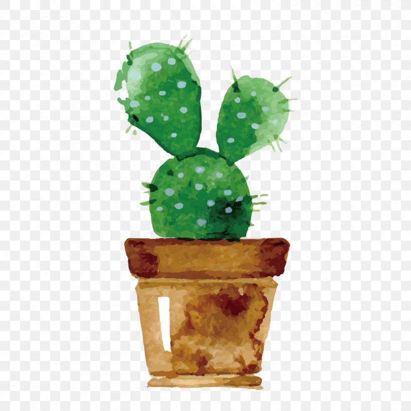 Cactaceae Watercolor Painting Drawing Succulent Plant Wallpaper, PNG, 1500x1500px, Cactaceae, Art, Barbary Fig, Cactus, Caryophyllales Download Free