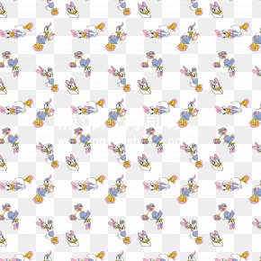 Donald Duck Cartoon Pattern Background Material - Donald Duck Euclidean Vector PNG