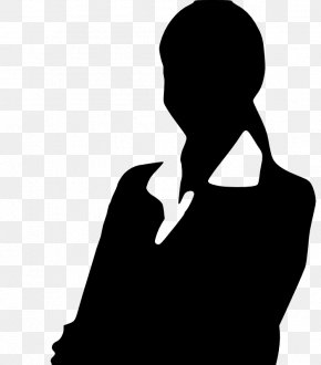 Cliparts Business Professional - Silhouette Woman Professional Clip Art PNG
