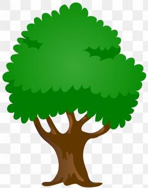 Tree Clip Art Image - Text Green Leaf Clip Art PNG