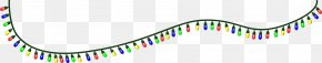 Colored String Cliparts - Christmas Lights Lighting Clip Art PNG