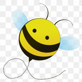 Cute Cartoon Bumble Bee - Bumblebee Cartoon Honey Bee Clip Art PNG
