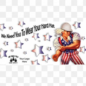 Safety Hat - United States Uncle Sam Human Behavior Cartoon PNG