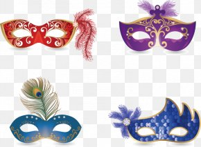 Color Mask Dance - Carnival Of Venice Mask Masquerade Ball PNG