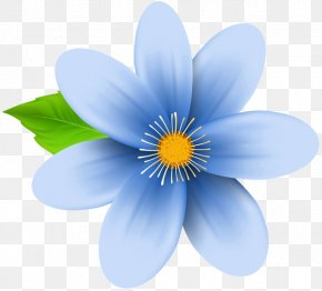 Blue Flower - Flower Blue Desktop Wallpaper Clip Art PNG