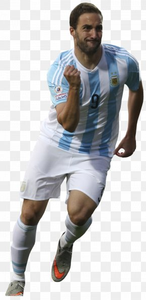 Football - Gonzalo Higuaín Argentina National Football Team 2015 Copa América Jersey Club Atlético River Plate PNG
