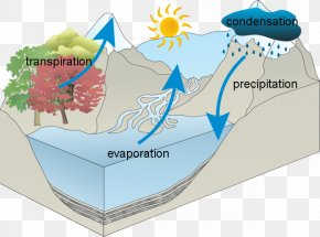 Diagram Water Cycle - Water Cycle Water Resources National Secondary School PNG