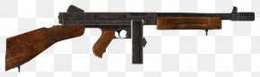 Gun - Fallout: New Vegas Thompson Submachine Gun .45 ACP Firearm PNG