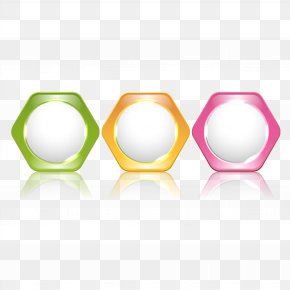 3 Color Hexagon Texture Vector Ppt Title - Icon PNG