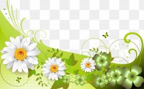Blue Flower Frame - Easter Bunny Wish Easter Egg Resurrection Of Jesus PNG