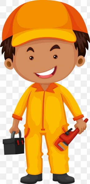 Handheld Toolbox For Vehicle Maintenance Engineers - Job Profession Illustration PNG