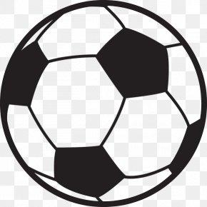 Soccer Ball Outline - Football Clip Art PNG
