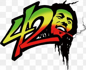 Bob Marley - 0 Blackface Cannabis Smoking Reggae PNG