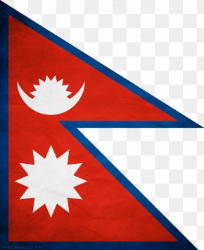 Elaphant Pictures - Flag Of Nepal National Flag Flags Of The World PNG