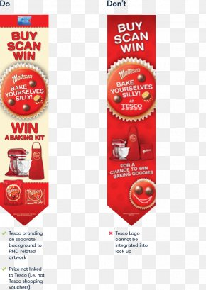 Red Nose Day 2017 - Tesco Advertising Retail Promotion Brand PNG