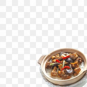 Braised Chicken - Dish Cooked Rice Recipe Icon PNG